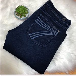 7 for all mankind DOJO CROPPED JEANS size 29